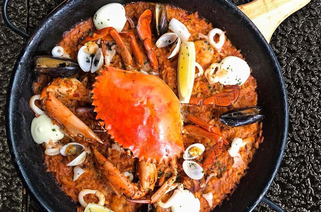 ESTADO PURO 海鲜饭&大虾