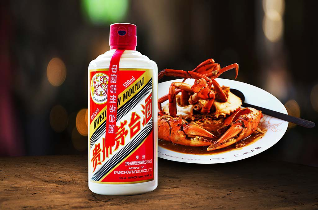 MINISTRY OF CRAB CHINESE WIHGT WINE WITH CRAB